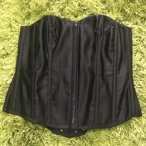 Touch of Glamour Sydney Corset Top Black Size 18D